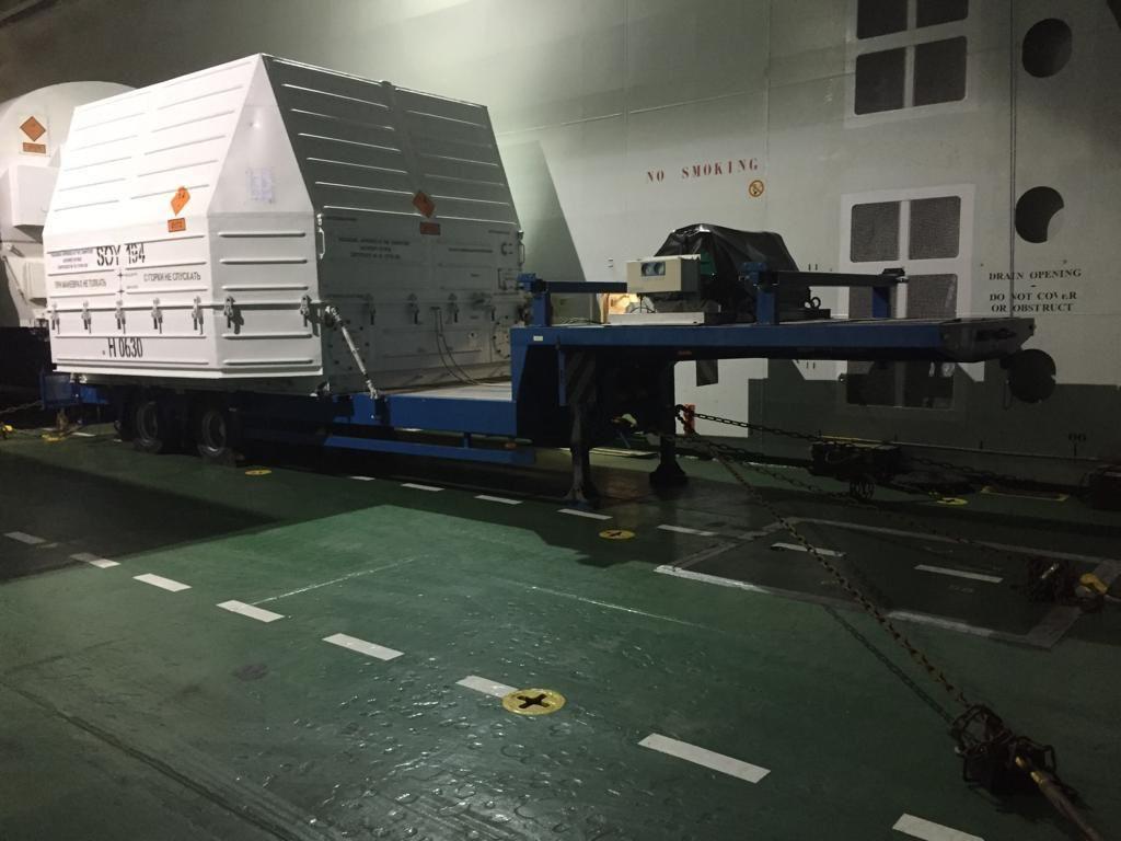 Два разгонных блока «Фрегат» отправлены в Гвианский космический центр